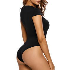 Polyester Spandex Couleur unie Lingerie Sexy