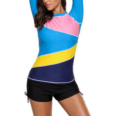 Taille Basse Haut Col Rond Sports Grande taille Hauts Maillots De Bain