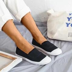 Donna Tela Casuale All'aperto con Fascia di gomma scarpe