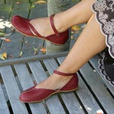 Kvinder PU Flad Hæl Fladsko med Andre sko