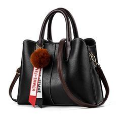 Elegant/Charmen/Klassisk Tygväskor/Axelrems väskor