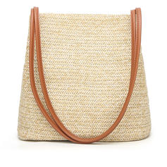 Delicate Straw Cross-Body Bags/Shoulder Bags