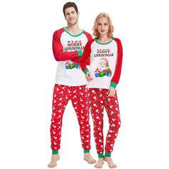 Санта Кольоровий блок Лист Для сім'ї Різдвяні піжами
