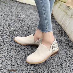 De mujer PU Tacón bajo Planos con Otros zapatos