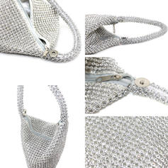 Shining Satin Clutches/Bridal Purse/Wallets & Wristlets
