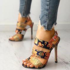 Жіночі ПУ Шпилька Сандалі з Пряжка взуття