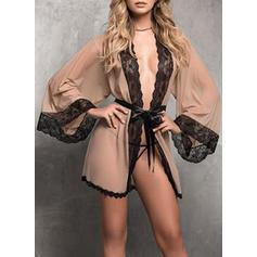 Спандекс Мереживо плаття -піжама