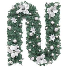 Wesołych Świąt PVC Świąteczny wystrój Girlanda