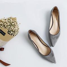 Kvinnor Mocka Flat Heel Platta Skor / Fritidsskor Stängt Toe skor