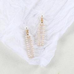 Стильний Сплав Імітація перлів з Імітація Перлини Сережки