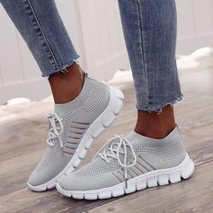 Donna Mesh Casuale con Allacciato scarpe