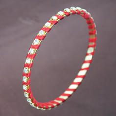 Beautiful Fashionable Exotic Iron Women's Bracelets (Set of 6)