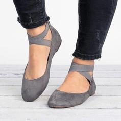 Kvinnor Mocka Flat Heel Sandaler skor