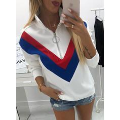 Coton Striped Sweat-shirts