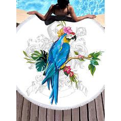 Floral/Faune Énorme serviette de plage