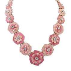 Maravilloso Aleación Diamantes de imitación con Rhinestone Señoras' Collar de la manera