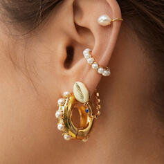 Charming Hottest Alloy Imitation Pearls With Imitation Pearl Earrings