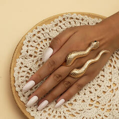 Exotic Snake Shaped Boho Alloy Rings