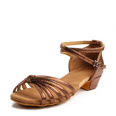 Women's Latin Heels Sandals Microfiber Leather Latin