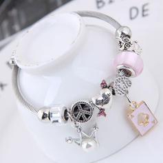 Modisch Legierung Frauen Armbänder (Sold in a single piece)