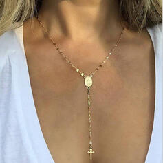 Cross Pretty Alloy Necklaces