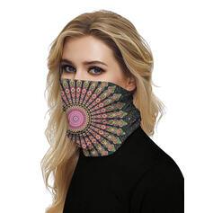 Respirável/Protetora/Cobertura total/Multifuncional/Sem Costura/Prova de poeira/Tie-Dye Bandanas