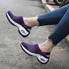 Жіночі Тканина Випадковий На відкритому повітрі з В'язаний одяг взуття