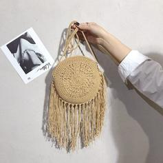 Fashionable Straw Shoulder Bags/Beach Bags