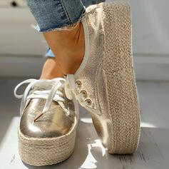 Жіночі Полотно Випадковий На відкритому повітрі з Зашнурувати взуття