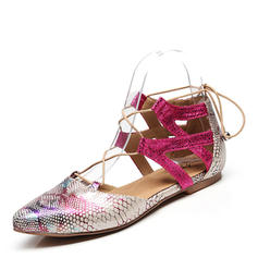 Femmes Modern Style Chaussures plates Similicuir Modern Style