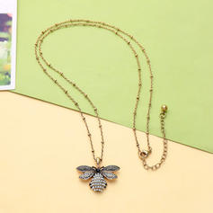 Unique Alloy With Imitation Pearl Women's Necklaces