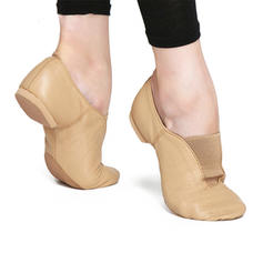 Women's Jazz Flats Real Leather Ballet