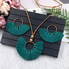 Alloy Jewelry Sets Necklaces Earrings