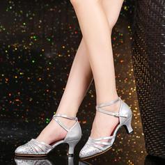 De mujer Sala de Baile Tacones Cuero Danza latina