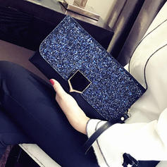 Elegant PU Clutches/Shoulder Bags/Wallets & Wristlets