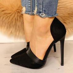 Kvinnor PU Stilettklack Pumps med Andra skor