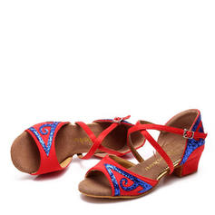 Kids' Latin Flats Leatherette Latin