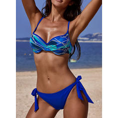 Floral Strap Elegant Beautiful Attractive Bikinis Swimsuits