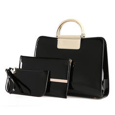 Charming PU Tote Bags/Bag Sets/Wallets & Wristlets