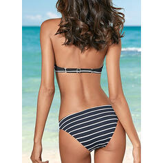Low Waist Print Push Up Halter Sexy Beautiful Bikinis Swimsuits