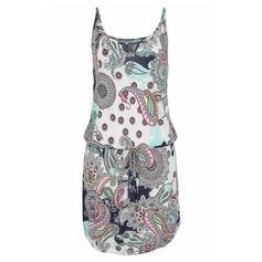 Print Sleeveless A-line/Shift Above Knee Casual/Boho/Vacation Dresses