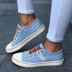 Mulheres Lona Casual Outdoor com Divisão separada sapatos