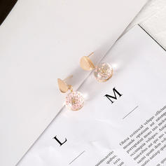Beautiful Alloy Acrylic Women's Fashion Earrings