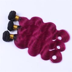 5A Ciało Ludzki włos Ludzkie włosy splot (Sprzedawane w jednym kawałku) 100g