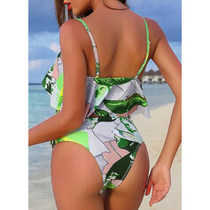 Floral Dot Strap Sexy Beautiful Classic Attractive Bikinis Swimsuits