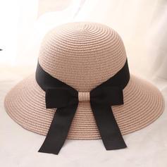 Ladies ' Særlige med Bowknot Strand / Sun Hatte