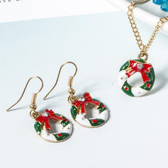 Lovely Alloy Jewelry Sets Christmas Jewelry (Set of 2)