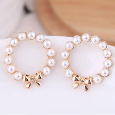 Exquisite Stylish Alloy Imitation Pearls With Imitation Pearl Women's Earrings