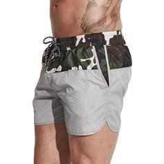 Men's Leopard Swim Trunks Swimsuit