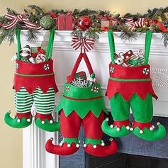 Merry Christmas Hanging Gift Bag Non-Woven Fabric Christmas Décor Apple Bags